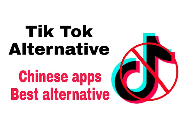 Tik tok alternative | Chinese apps Best alternative