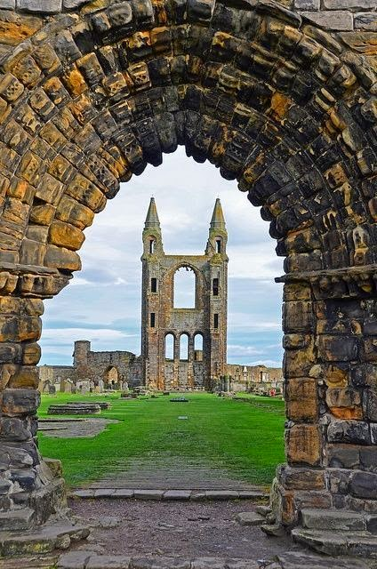 St.Andrew's Cathedral, Fife, Scotland