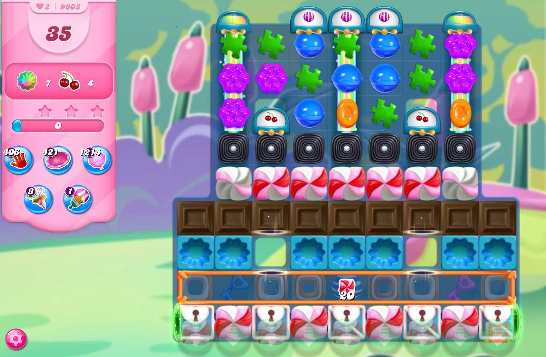 Candy Crush Saga level 9608