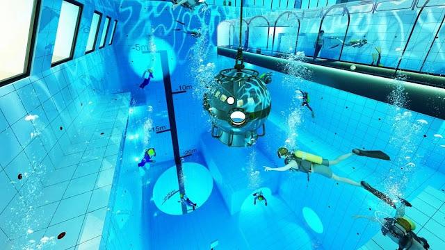 Kolam menyelam terdalam di dunia dibuka di Polandia