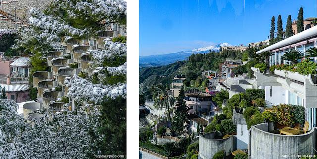 Hospedagem em Taormina: Hotel Monte Tauro