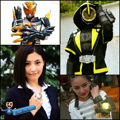Yuko Takayama menjadi Kamen Rider Dark Necrom Y dan Kamen Rider Mage