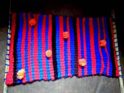 Woven Yarn Mat