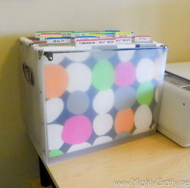 How to Organize Your Daily Papers - MightyCrafty.me
