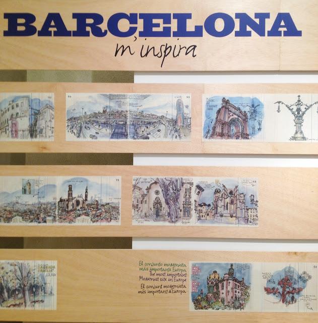 Sketching Barcelona