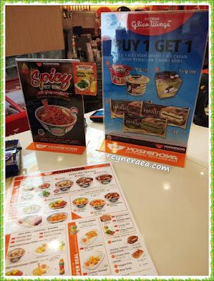 harga menu yoshinoya