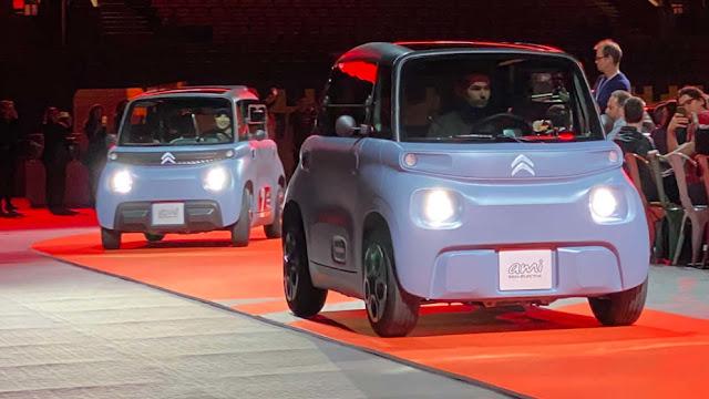Ami, carro elétrico da Citroën