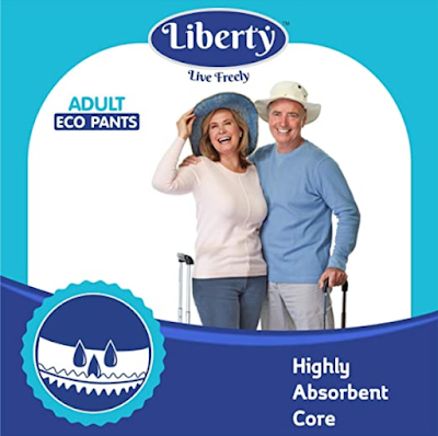 Liberty Eco Unisex Adult Diaper Pants for the Freedom of Mobility