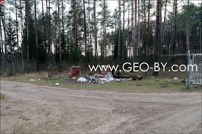 СT Лесное-Ливье. Место сбора мусора