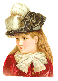 fashion vintage hat girl victorian image