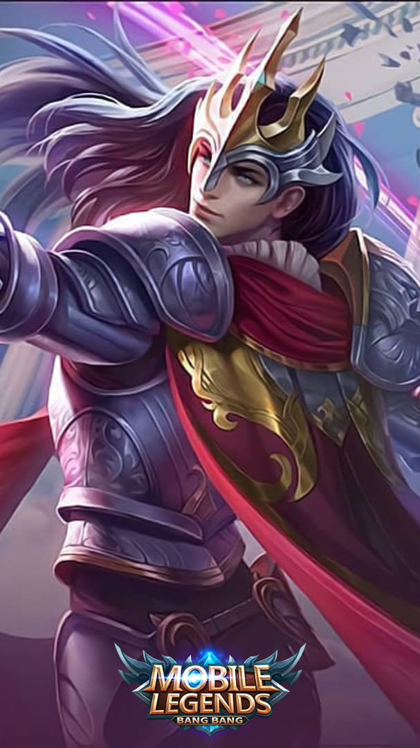 Wallpaper Lancelot Floral Knight Skin Mobile Legends HD for Android and iOS