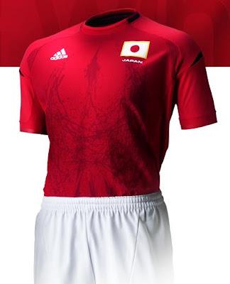 canalfútbol Blog: Nueva camiseta adidas de Japón 2012/13