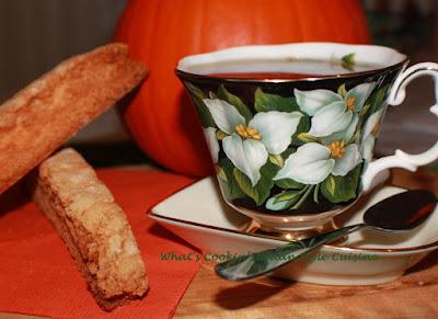 Pumpkin Pistachio Biscotti
