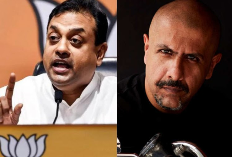crpf attack bjp leader sambit patra and vishal dadlani argument on social media