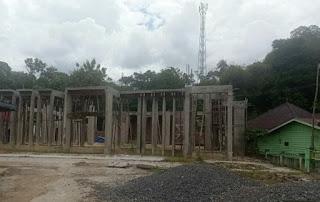 Anggaran Tahap ll untuk Pembangunan Masjit At-taqwa Desa Penuba Dipertanyakan