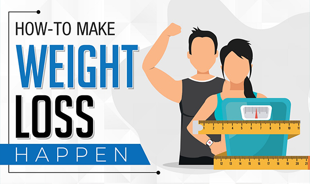How to Make Weight Loss Happen #infographic