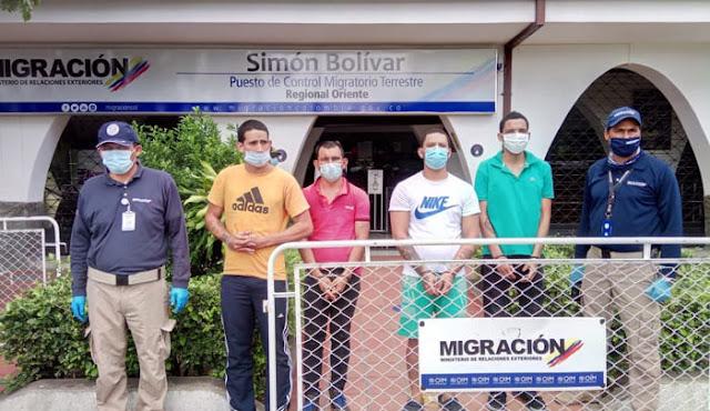 hoyennoticia.com, Colombia expulsó a cuatro prófugos de la Guardia Venezolana