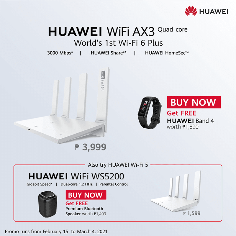 WiFi AX3 poster
