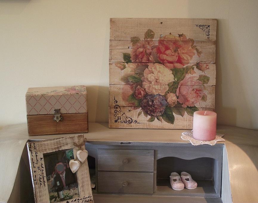 Cuadro hecho con maderas de pal bricolaje - Cuadros con palets ...