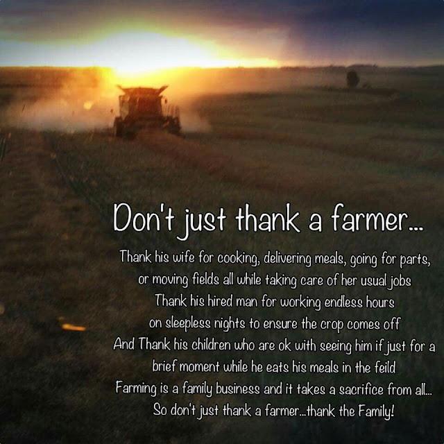 Don't Just Thank A Farmer