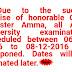 Anna University Dec 06 to 08 exams postponed