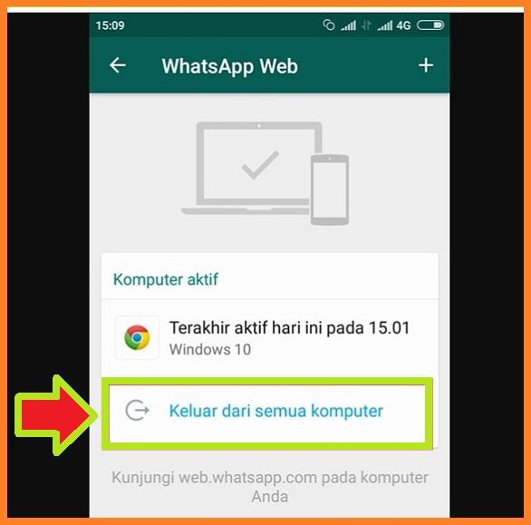 Cara Keluar Dari WhatsApp Web Lewat Hp Agar Tidak Dibajak 2