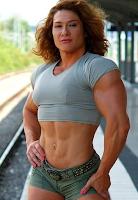 Amazon Muscle Girls Female bodybuilding