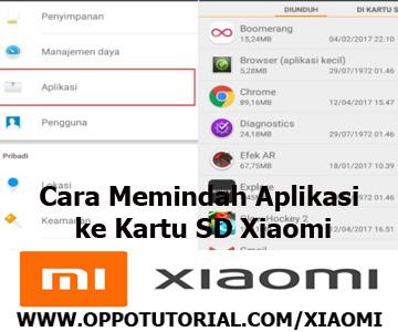 Cara Memindah Aplikasi ke Kartu SD Xiaomi
