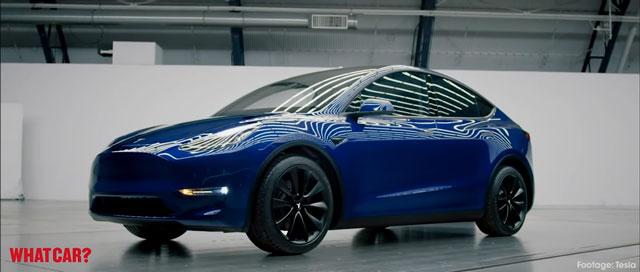 من المتوقع ان يبدئ بيع سيارة تيسلا Y في وقت أقرب بكثير مما كان متوقعا