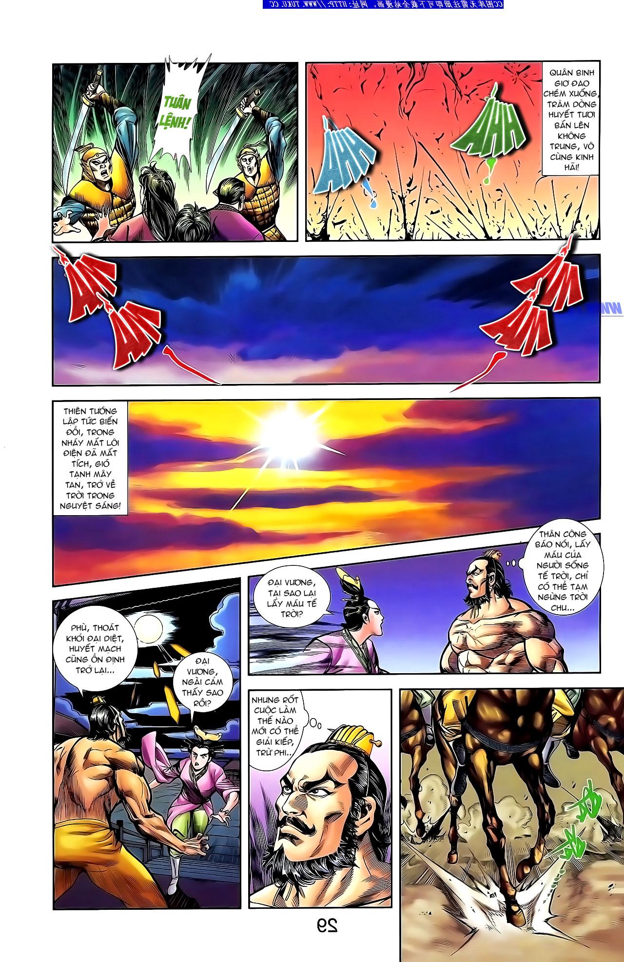 Cơ Phát Khai Chu Bản chapter 133 trang 10