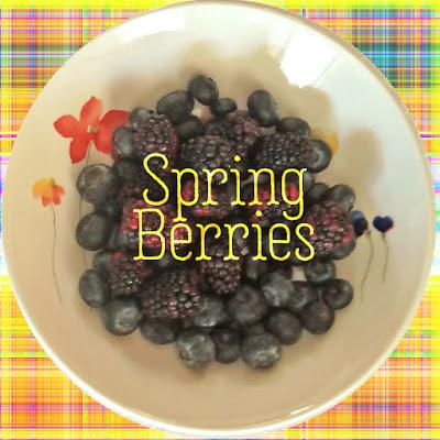 April Blueberries and Blackberries