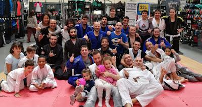 Brazilian Jiu Jitsu Terrassa Demostración en Decathlon