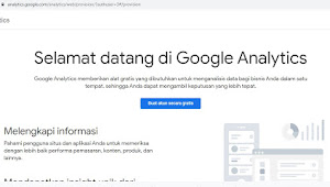 Cara Memasang dan Menggunakan Google Analytic di Blogspot