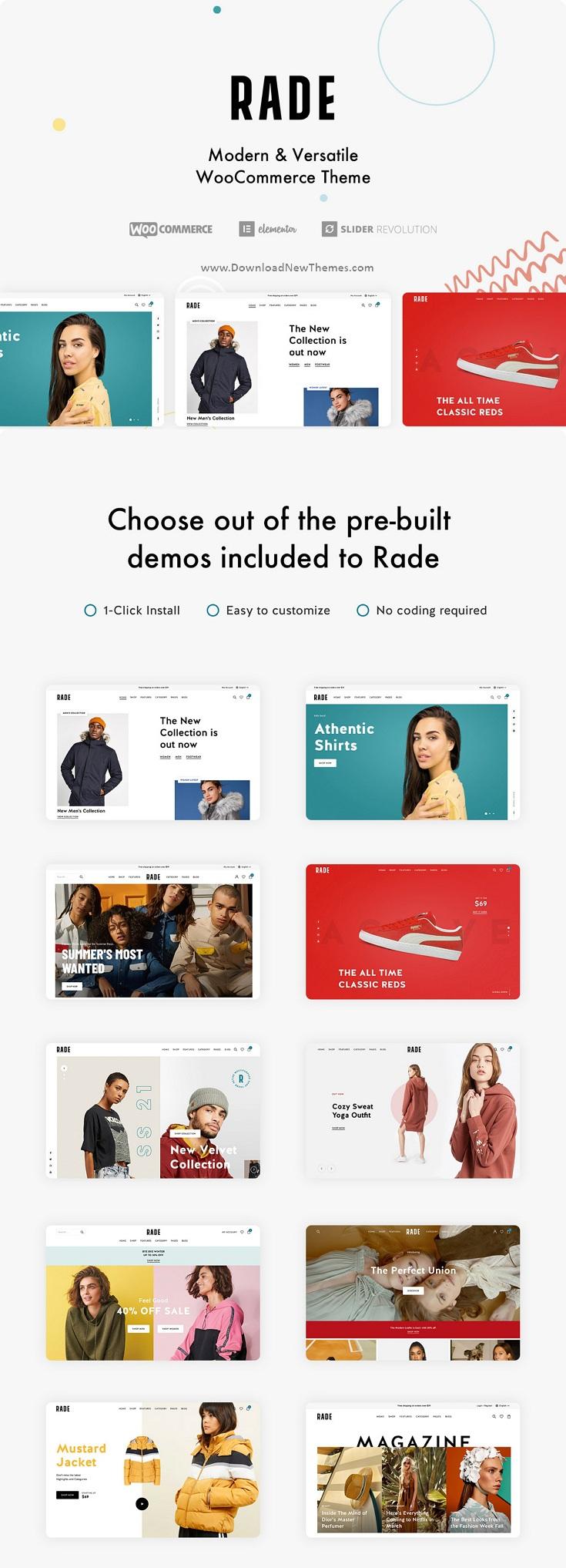 Versatile WooCommerce WordPress Theme