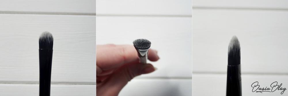płaski pędzel języczkowy do korektora Neauty Minerals