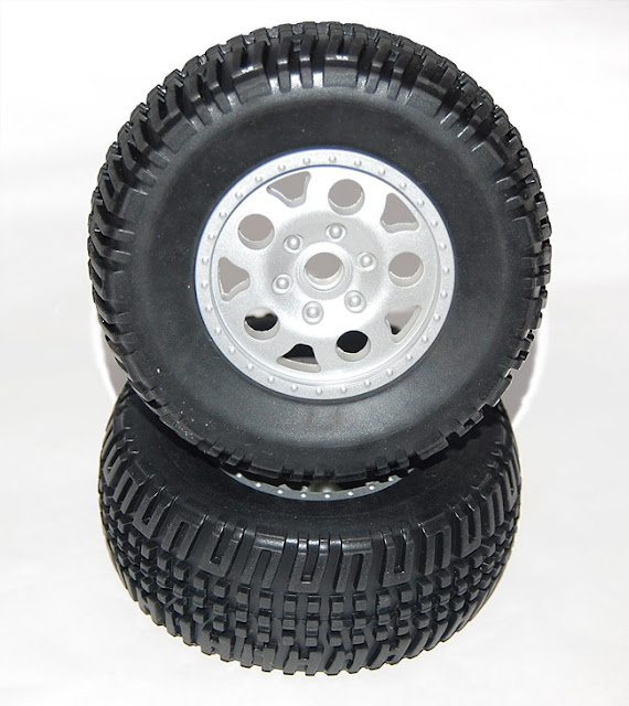 Team Associated SC10 tire and wheels