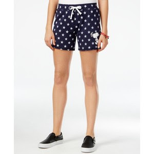 Peanuts juniors' Snoopy graphic active shorts, $9.99 from Macy's