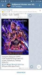 Cara download film lewat telegram tanpa iklan