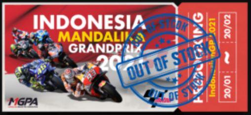 tiket MotoGP Indonesia