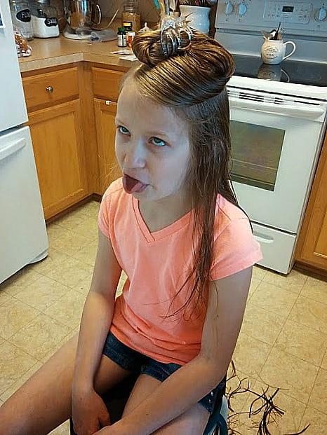 How To Cut Girls Long Hair At Home Diy Beautify Creating Beauty At Home