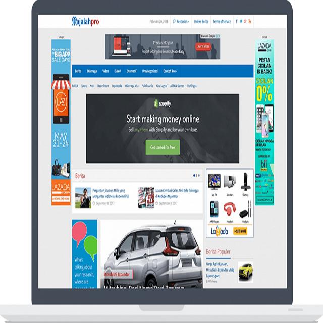 Majalahpro Theme WordPress