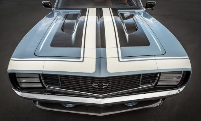 Admiren la belleza de este Chevrolet G-Code Camaro 69
