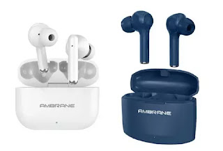 Ambrain India launched two earbuds Ambrane Dots 38 and NeoBuds 33
