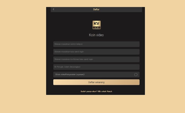Aplikasi KV : Benarkah Apk Koin Video Menghasilkan Uang? Atau Penipuan, Temukan Disini!