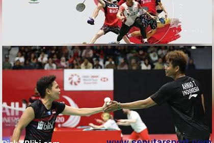 Hasil Indonesia Masters 2020, Tontowi Ahmad/Apriyani Rahayu melaju ke babak utama