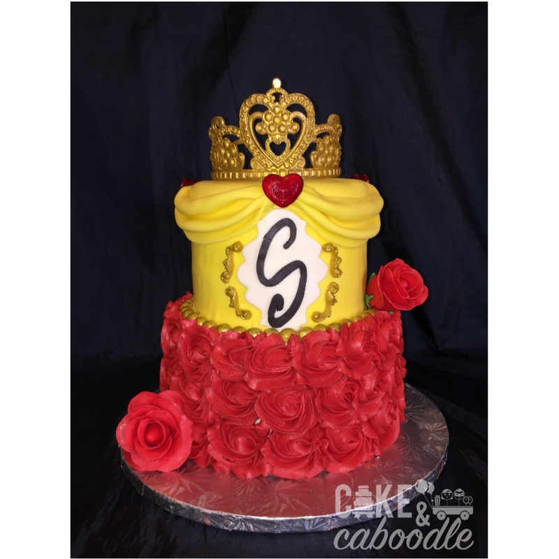 Beauty and the Beast Cake Cake and Caboodle