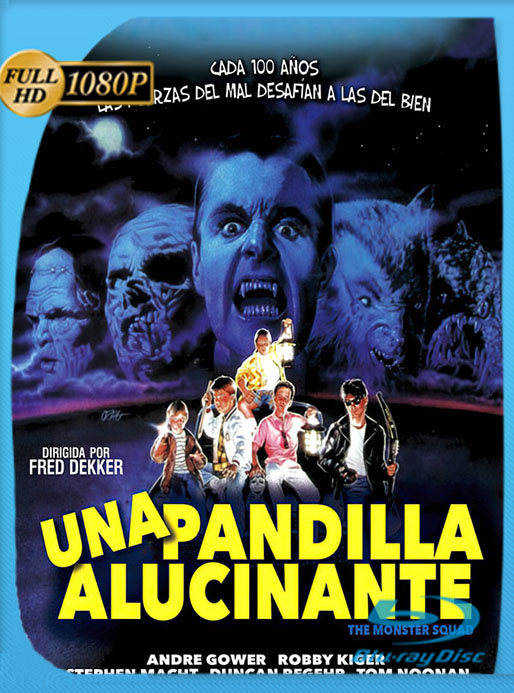 El Escuadrón Anti-Monstruos (Una pandilla alucinante)  [HD-1080p] [Latino] [1987] [Google Drive] Tomyly