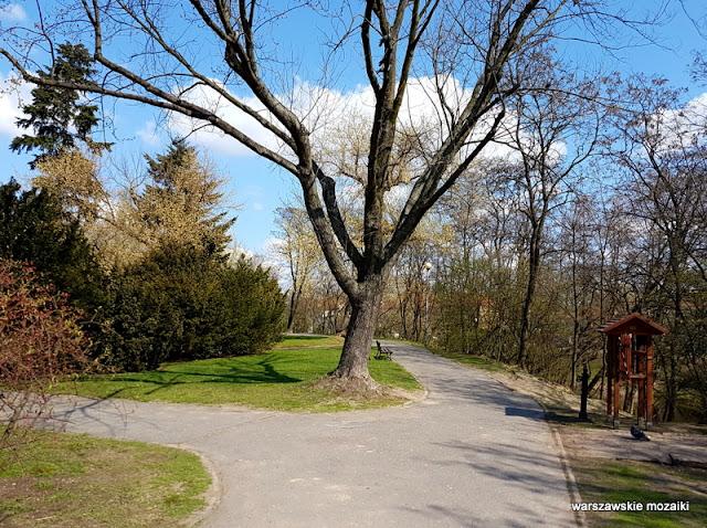 Warszawa Warsaw Mokotów Sadyba teren zielony park