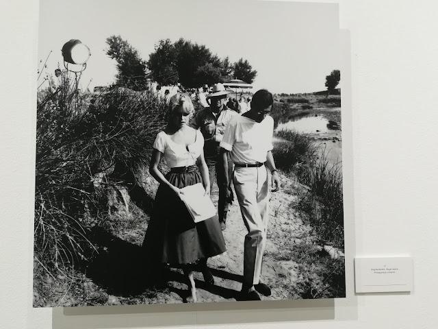 Brigitte Bardot en Almería en blanco y negro