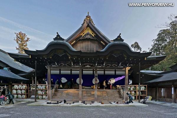 Iszei nagyszentély, Japán